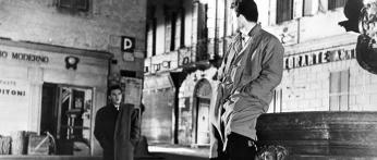 Un'immagine de I vitelloni, girato a Viterbo nel 1963